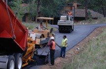 New Asphalt on Road